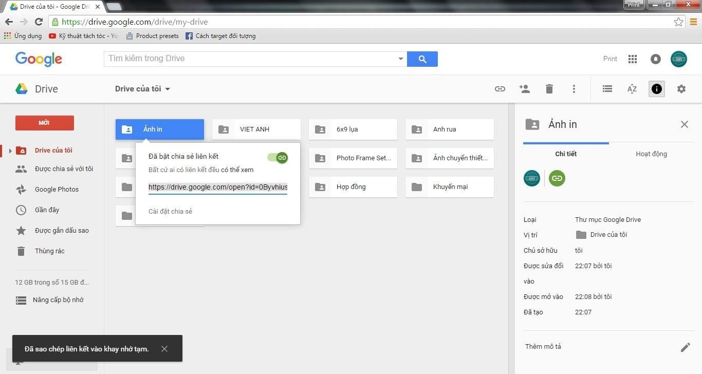 Buoc 5 huong dan tai tep len Google Drive