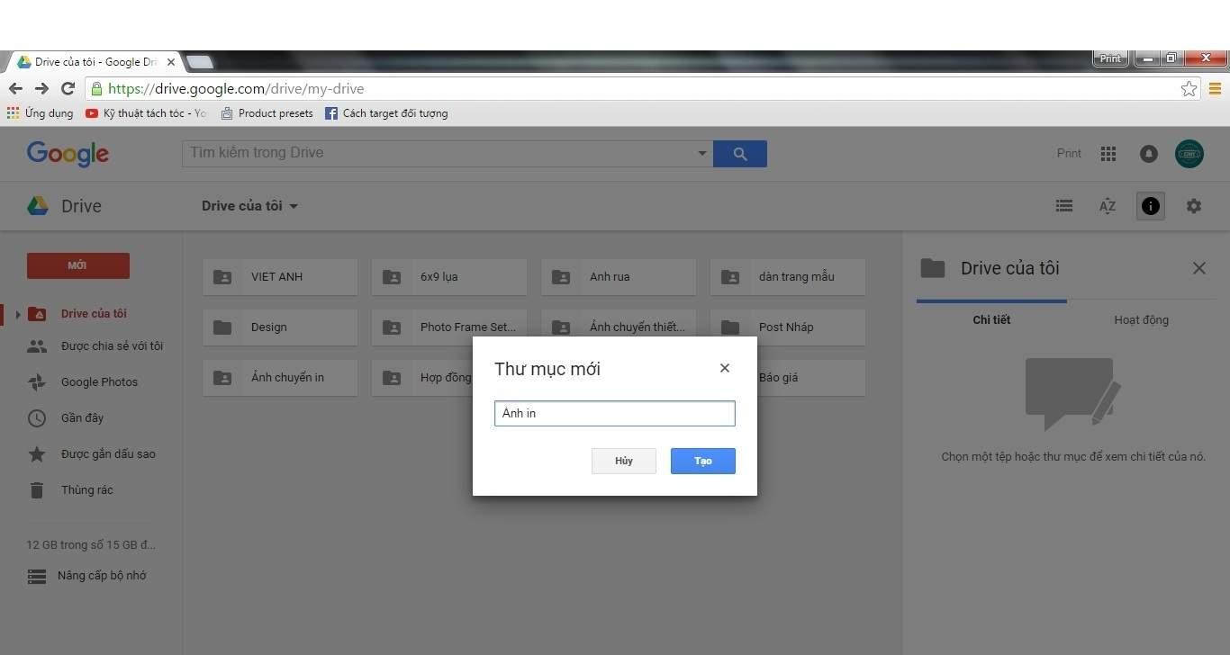 Buoc 1 huong dan tai tep len Google Drive