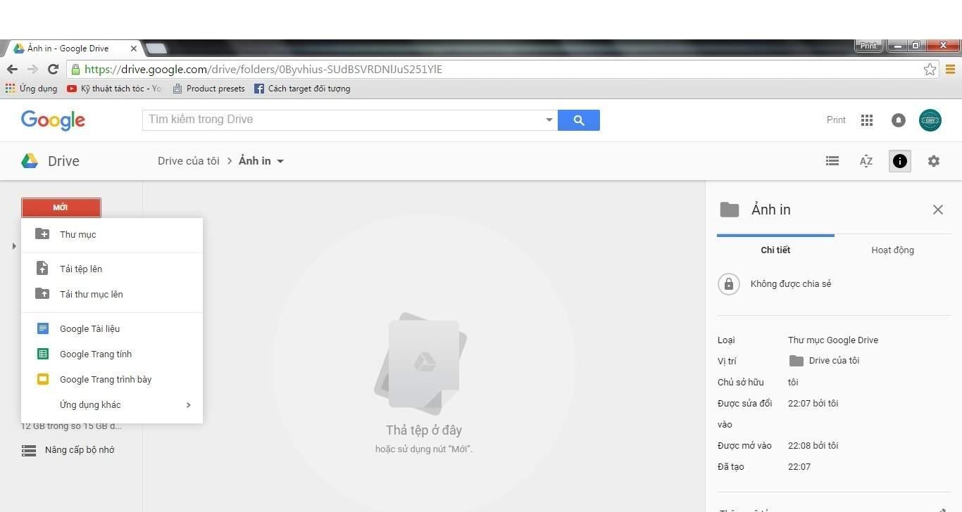 Buoc 3 huong dan tai tep len Google Drive