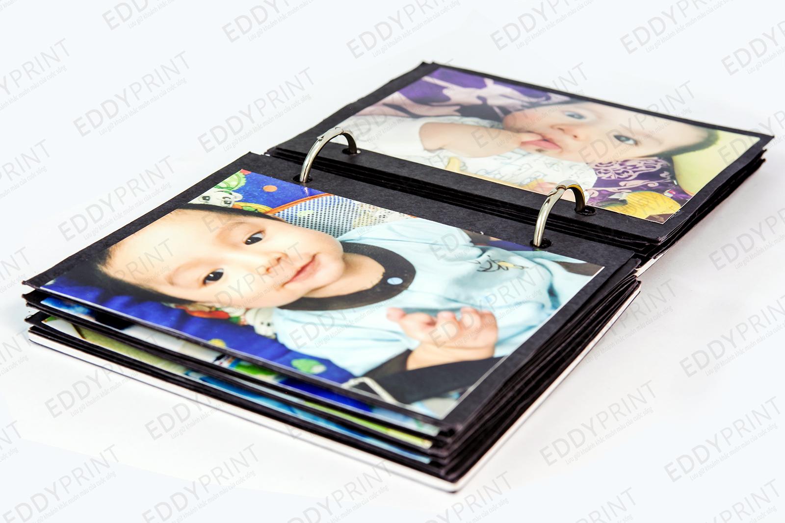In ảnh làm scrapbook là 1 món quà ý nghĩa dành cho các bé
